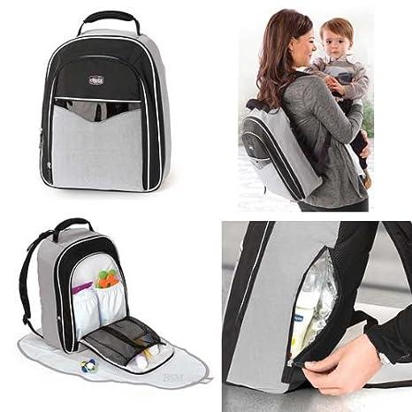 Amazon.com: Chicco Mochila pañal bolsa Perla romántica: Baby