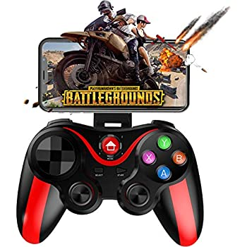 Amazon com: Mobile Game Controller, Megadream Wireless Key Mapping