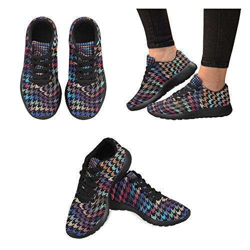 Interestprint Mujeres Jogging Running Sneaker Ligero Go Easy Walking Comfort Sports Calzado Deportivo