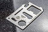 SE 11-Function Stainless Steel Survival Pocket