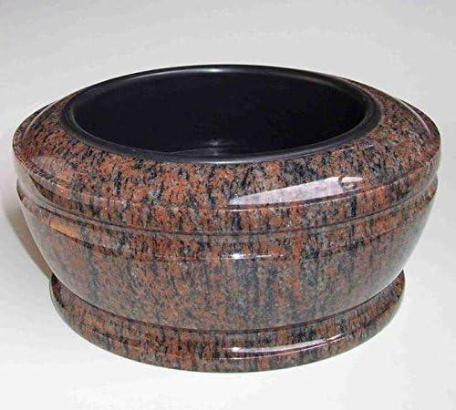 designgrab Exclusiv Grande Grab Bol diam/ètre 34/cm en granit gneis Halmstad//barap//Hollandia cimeti/ère Coque Pierre Tombale Granit Coque Pot Fun/éraire Tombe PO2452/Vasque