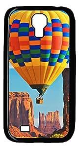 Brian114 Samsung Galaxy S4 Case, S4 Case - Black Hard PC Cases for Samsung Galaxy S4 I9500 Flying Ballon 2 Ultra Fit for Samsung Galaxy S4 I9500