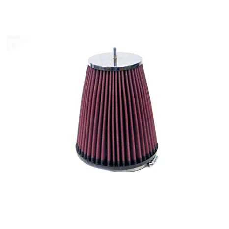 76 mm K/&N RC-1060 Universal Clamp-On Air Filter: Round Tapered; 1.938 in Top Flange ID; 3 in 49 mm 51 mm 76 mm Height; 3 in Base; 2 in