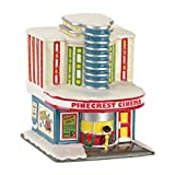 Department 56 Peanuts Village Pinecrest Cinema Lighted Bldg by Enesco