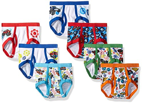 Nickelodeon Toddler Boys' 7pk Underwear, Assorted, 2T/3T by Nickelodeon