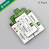 Freshliance Temperature Data Logger Single Use USB PDF Cold Chain-7Days 6Pack Memory Size (7days, 6)