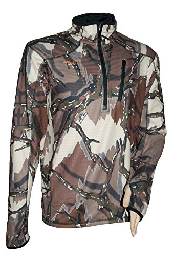 Predator Camo Men's Kompass 1/4 Zip Shirt
