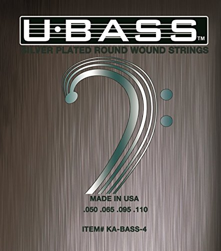 (Kala KA-BASS-4 Metal Round Wound U-Bass Strings)