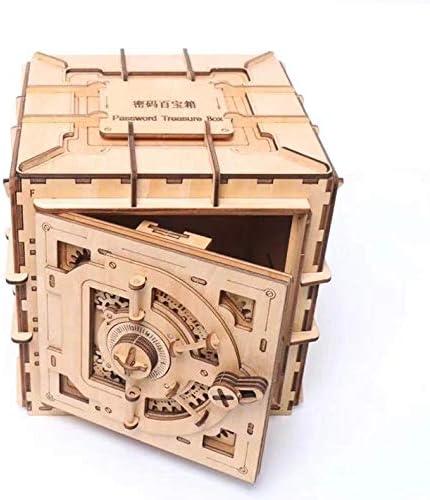 [해외]Mechanical 3D Safe cryptex Adult Puzzle Wooden Brain TeaserDIY IQ Game / Mechanical 3D Safe cryptex, Adult Puzzle, Wooden Brain Teaser,DIY IQ Game
