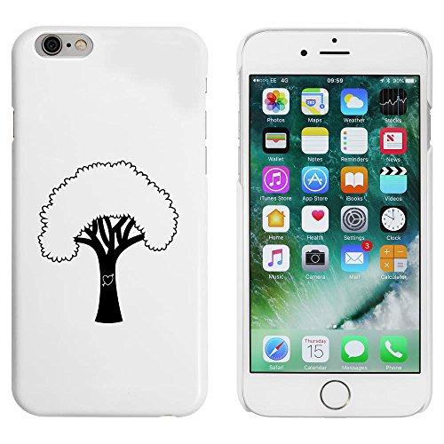 Blanc 'Arbre du Coeur' étui / housse pour iPhone 6 & 6s (MC00086269)