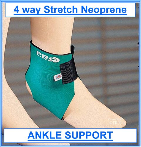 (Proline Neoprene Ankle Support - Mint - Free Size Adult )