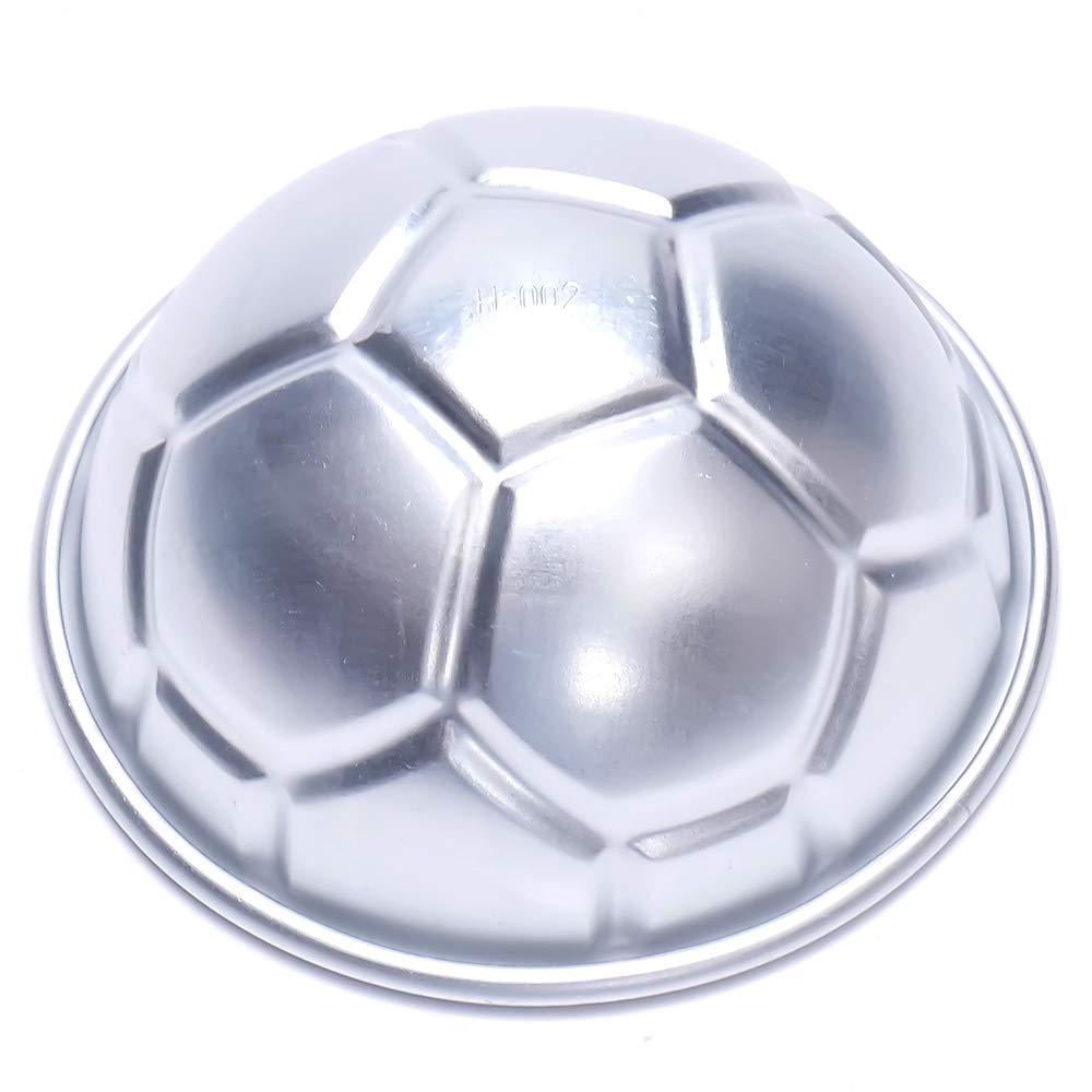 BHPSU - Molde para tartas (2 unidades, diseño de balón de fútbol ...