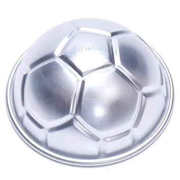 BHPSU - Molde para tartas (2 unidades, diseño de balón de fútbol): Amazon.es: Hogar