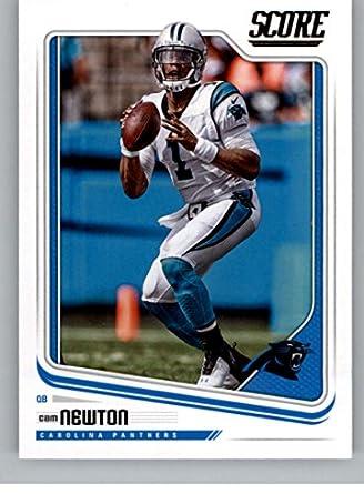 9ad6a4b943b Amazon.com: 2018 Score #43 Cam Newton Carolina Panthers Football ...