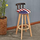 KY Bar Stools Bar Chair Modern Style Bar Stools Counter Chair Kitchen Breakfast Barstool (color : P)