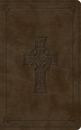 ESV Vest Pocket New Testament with Psalms and Proverbs (TruTone, Olive, Celtic Cross Design) (Esv Cross Bible Celtic)