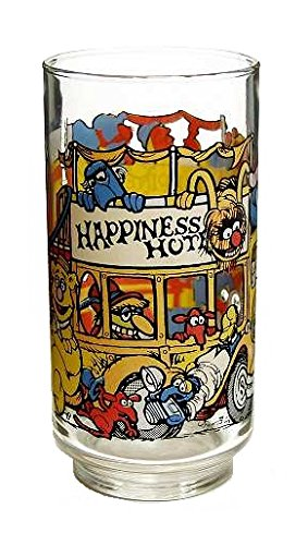 McDonald's Great Muppet Caper Glass (1981 / Happiness Hotel / 5 1/2
