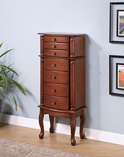 Mahogany Jewelry Armoire by Coaster Furniture ()