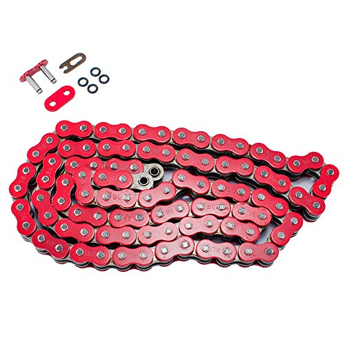 Max Motosports 520 Pitch 86 Links 520x86 O-Ring Drive Chain for Honda TRX 300EX Sportrax TRX300X 1993-2009 (Red)