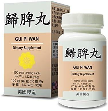 Amazon.com: Gui Pi Wan Suplemento de hierbas ayuda a para el ...