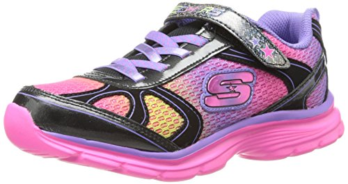 Skechers Kids Magnetics-Spellbinder Athletic Sneaker (Little Kid/Big Kid),Black/Multi,11 M US Little Kid