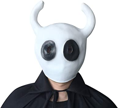 Metroidvania Game Hollow Knight Cosplay Mask Full Face Halloween Party Prop