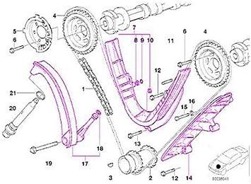 Amazon.com: for BMW m62 (96-98) Lower Timing Chain Rail Set (3 pcs):  Automotive | Bmw M62 Engine Diagram 1998 |  | Amazon.com
