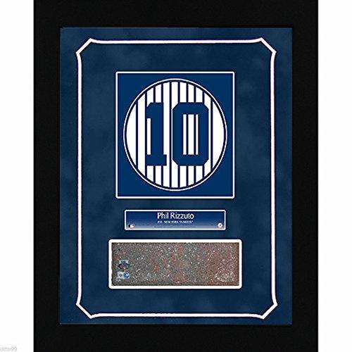 - PHIL RIZZUTO #10 OLD YANKEE STADIUM MONUMENT PARK BRICK 14x18 PLAQUE GAME USED