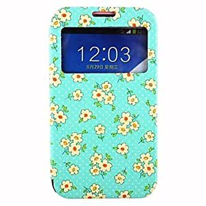 Floret Clamshell PU Leather Full Body Case with Card Slot for Samsung Galaxy Note2 N7100