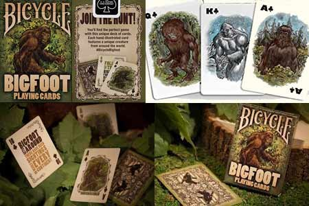 Bicycle Bigfoot Playing Card by US Playing Card Co - Trick