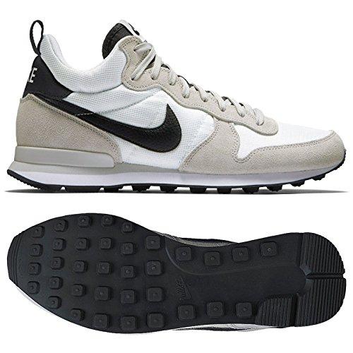 Nike Men's Internationalist Mid Shoes, Summit White/Neutral Grey/Anthracite, 9