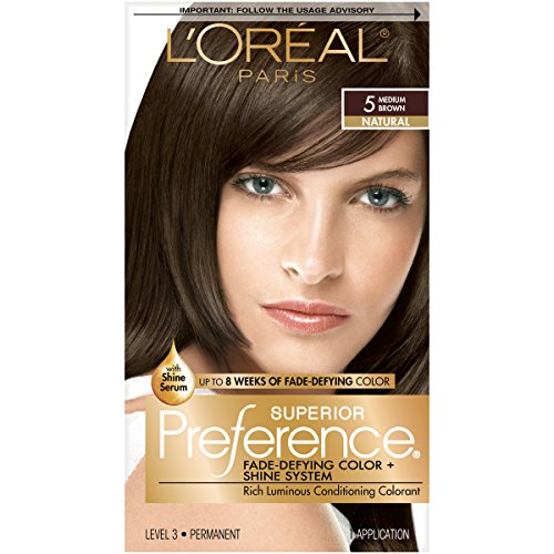 LOreal Paris Preference Fade Defying Packaging