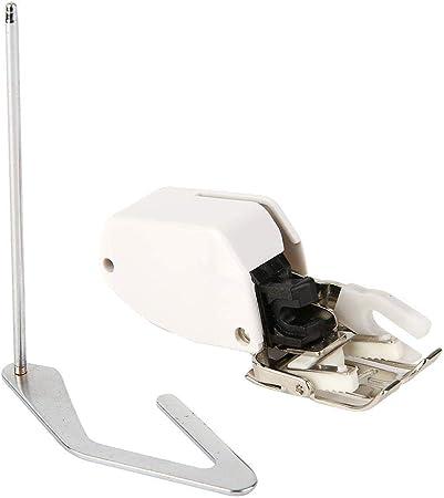Prensatelas de alimentación síncrona Pie multifunción 7 mm con Varilla guía Accesorios para máquinas de Coser para el hogar Prensatelas para pies Juego de procesamiento de Prendas de Vestir(Negro): Amazon.es: Hogar