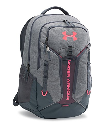 Under Armour Storm Contender Backpack, Graphite/Stealth Gray, One Size (Under Armour Y Backpack)