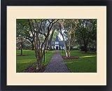 Framed Print of USA, GA, St. Simmons Island, Christ Church