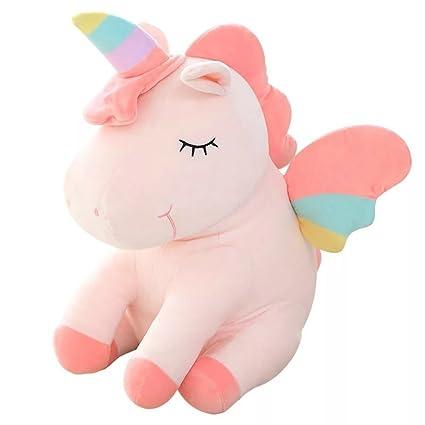 Amazon Com Unicorn Stuffed Animal Large 10 Plush Unicorn Toy