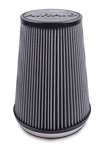 Airaid 700-469TD Racing Air Filter: Round Tapered; 6 in (152 mm) Flange ID; 9 in (229 mm) Height; 7.25 in (184 mm) Base; 5 in (127 mm) Top