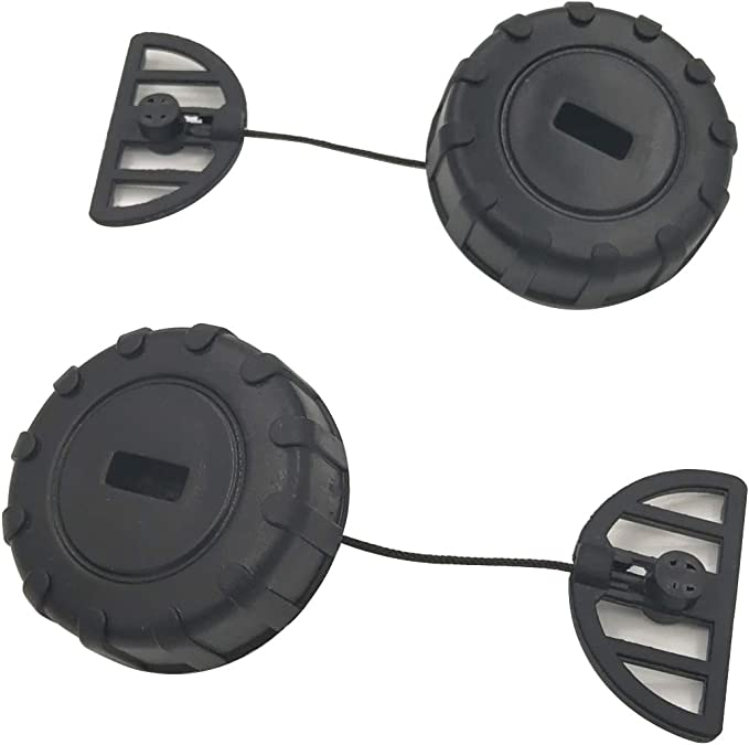 Tapa del Tanque de Combustible y Tapa del Aceite para STIHL 017 018 MS170 MS180 Motosierra