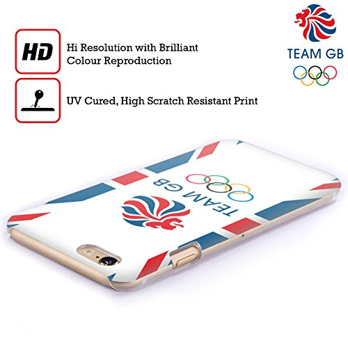 Official Team GB British Olympic Association Flag Logo Hard Back Case for Apple iPhone 6 Plus / 6s Plus