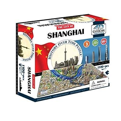 4d Cityscape Shanghai History Time Puzzle