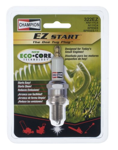 Champion Spark Plug 322EZ-8PK EZ Start SE Plug with ECO-Core Carded, 8 Pack ()