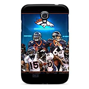 LatonyaSBlack Case Cover For Galaxy S4 - Retailer Packaging Denver Broncos Team Players Protective Case