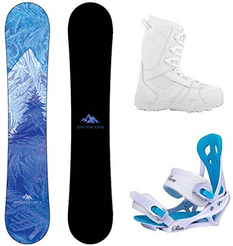 System 2019 Juno and Mystic Complete Women's Snowboard Package
