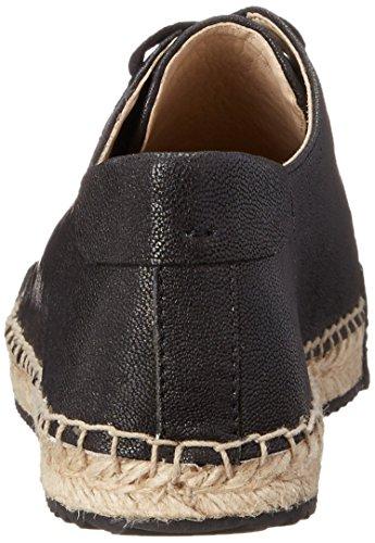 Neuf Ouest Femmes Orlov En Cuir De Mode Sneaker Noir