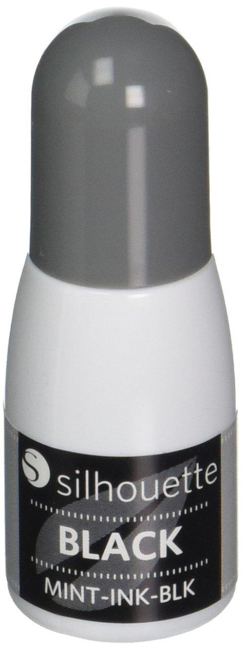 Silhouette 5ml Refill per menta, Nero Mint Ink-Black