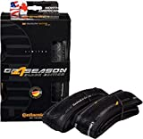 Continental Grand Prix 4-Season 700x25 Black Limited Edition Folding Clincher Tire 2-Pack