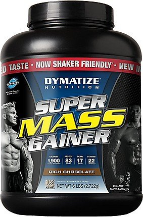 Dymatize Super Mass Gainer Chocolate 6 lbs (2,722g)