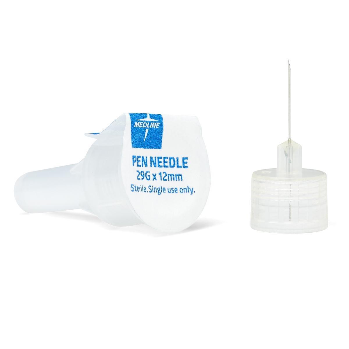 Medline MPHPN2912 Pen Needles, 29 Gauge, 12 mm (Pack of 1000)