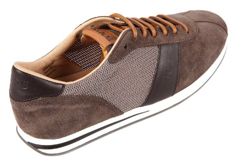 Tod's men's shoes suede trainers sneakers brown US size 8 XXM0RB0G68117Q447Y