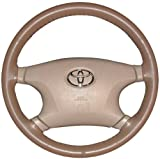 Wheelskins Jaguar Genuine Leather Oak Steering Wheel Cover-Size C